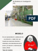 Presentación i.o. MODELOS