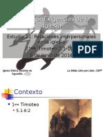 21relacionesinterpersonalesenlaiglesia-140814151329-phpapp02