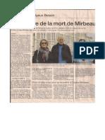 Éric Marie, « Centenaire de la mort de Mirbeau »
