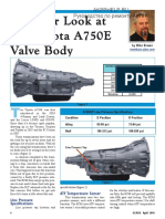 A750E Manual
