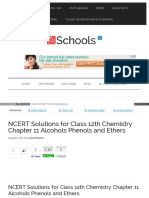 Ch 11 Alcohol Phenol and Ether