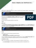 Sinergia - Programação Orientada a Objetos Com C# (Parte 5.4) – Polimorfismo
