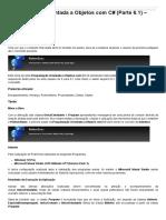 Sinergia - Programação Orientada a Objetos Com C# (Parte 6.1) – Interface