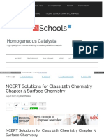 Ch 5 Surface Chemistry