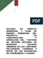 ESTUDIO DE IMPACTO AMBIENTAL Y PLAN DE MANEJO AMBIENTAL DEL PROYECTO DE CONSTRUCCIÓN Y OPERACIÓN DE2.docx