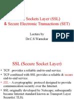 Secure Sockets Layer SSL
