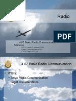 4.02 Basic Radio Communications