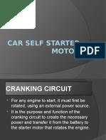 Car Self Starter Motor