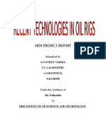 Recent Technologies in Oil Rigs- Title