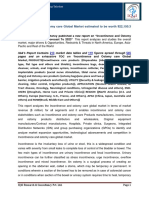 """IQ4I Research & Consultancy published a new report on """"Incontinence and Ostomy care Global Market  – Forecast To 2023"""""""