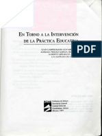 En Torno a La Intervención de La Practica Educativa001