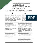 UNIDAD 1_ Las Organizaciones y Relacion Social