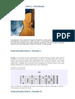 Improvisação e Harmonia