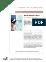 Manual Etologia Canina Pvp