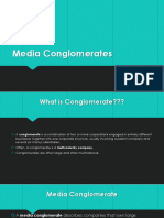 Lecture 2 Media Conglomerates-Comcast