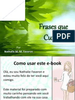 Frases Que Curam eBook Sem Audio