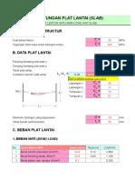 Cara Perhitungan Kolom Balok Plat Xls