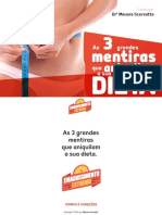 eBook as 3 Grandes Mentiras Que Aniquilam Sua Dieta (1)