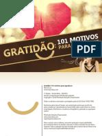 eBook Gratidao 101 Motivos Para Agradecer