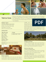Club Mahindra Goa Varca Beach FactSheet