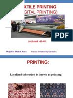 Lecture 43 -48 Digital Printing