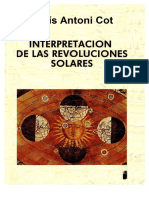 Lluis Antoni Cot Interpretacion de Las Revoluciones Solares 122