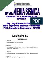 CAPITULO II -Terremotos - Parte 1