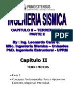 CAPITULO II -Terremotos - Parte 2