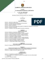 Lege Cu Privire La Răspunderea Disciplinară a Judecătorilor Nr.178 Din 2014