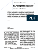 An Overview of Soil Heterogeneity; Quantification and Implications on Geotechnical Field Problems