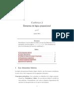 Elementos de lógica proposicional