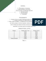 Material y Procedimiento Practica 1
