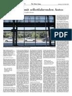 NZZ_Autonome Autos Und Jobs