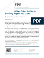 Who Pays if We Raise the Social Security Payroll Tax Cap?