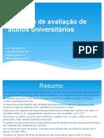 Inquérito de Avaliação de Alunos Universitários
