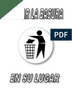BOTAR LA BASURA EN SU LUGAR.doc