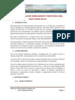Plan de ordenamiento Territorial Del Cusco