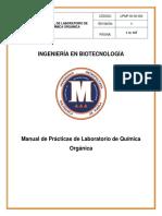 Manual de Laboratorio de Química Orgánica