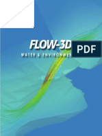 FLOW-3D Water and Environmental Brochure in English