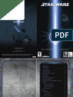 Star Wars Jedi Outcast - Manual