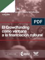 el crowdfunding como ventana a la financiación cultural