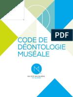 Code Deontologie Smq