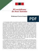 El Socialismo de Jose Antonio