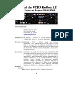 PCDJ RED Spain ReflexLE Manual 3rdEdition