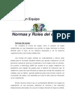 Normas y Roles Del Equipo