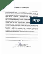 ESCRITO DE IMPUGNACIÓN C. JOSÉ LUIS LÓPEZ MATA PADILLA, TAM