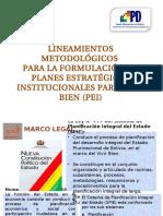 Lineamientos Metodologicos Pei