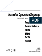 Manual Articulada Jlg e450a_e450aj
