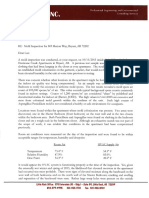 Luz Ruiz' mold testing report from Atoka