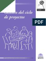 Gestion ciclo proyectos
